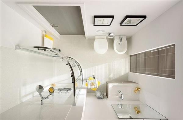 Ureditev majhne kopalnice - Ikea bagno piccolo ...